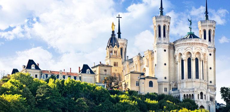 Basilica Notre Dame Fourviere Lyon