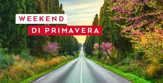 Il tuo weekend di primavera a partire da 19€ al giorno!