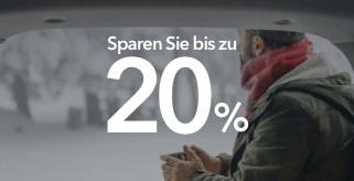 Sparen Sie bis zu 20% mit unserem Neujahrsangebot
