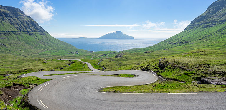Avis car hire in the Faroe Islands