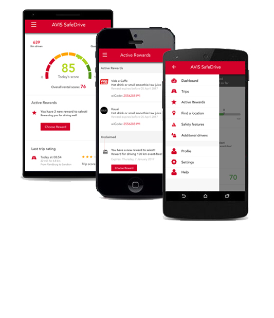 Find out if your phone is compatible with Avis SafeDrive
