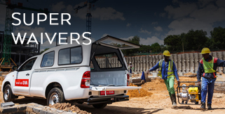 Super waiver van rental South Africa